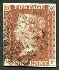 1841 Penny Red (MF) Plate 13 four margin (Just!)