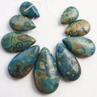 9Pcs Beautiful Kambaba Jasper Teardrop Pendant bead Set Lin1028037