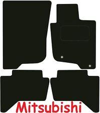 MITSUBISHI l200 Doppia Cabina Deluxe qualità Tappetini su misura 2006 2007 2008 2009 2010