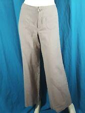 ONE STEP Taille 40 très joli pantalon gris femme en coton et lin trousers