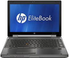 HP Elitebook 8560W Workstation |  Core i5 2.6GHz | 8GB | 500GB | Windows 10 Pro