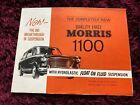 Morris 1100 Brochure 1962 - UK Issue dated 3/62 #6216