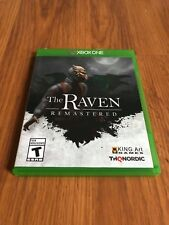The Raven Remastered Hd (Xbox One, 2018) Missing Manuals!