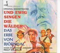 """Rolf Wilhelm - """"Und ewig singen die Wälder / Das Erbe von Björndal"""", CD, OVP,"""