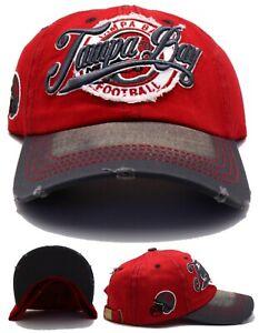 Tampa Bay New Leader Vintage Ladies Women City Buccaneers Red Gray Era Hat Cap