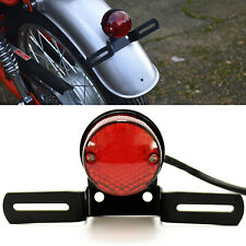 Motorcycle Red Lens LED Tail Light For Harley Chopper Custom Bobber mt 07 mt09