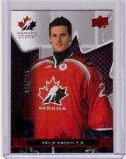 FELIX POTVIN 18/19 Team Canada Juniors Alumni Exclusives #96 Card #d 225/225 SP