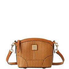 Dooney & Bourke Camden Woven Mini Domed Crossbody Shoulder Bag