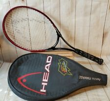 """Head Andre Agassi Tennis Racquet Radical Tour Oversz Widebody w/Cover 4""""1/4 Grip"""
