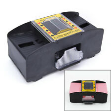 Automatic Poker Card Shuffler Battery Operated Game Playing Shuffling Machine ED
