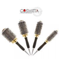Head Jog Professional Gold Thermal Ceramic Radial Hair Brush