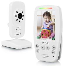 "Axvue E660 Video Baby Monitor, 2.8"" LCD Screen and 1 Camera, OPEN BOX"