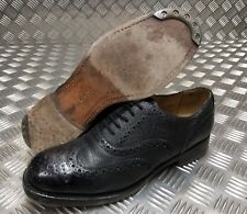 Genuine British Army Highland Issue Service Dress Shoes Brogues / Blakeys