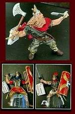 Papo Viking Barbarian vs Roman Army 3pc lot Classic Thor Centurion Legionary NWT