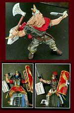 Papo Viking Barbarian vs Roman Army 3pc lot Classic Thor Centurion Legionary NWT