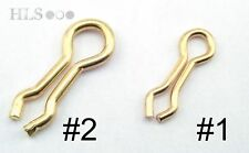 Fundición de plomo Artículos HLS Products aros giratorios Página principal Brass Do-it loops #1 1l/b 25