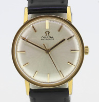 Vintage 1963 Stainless Steel and Gold Plated Omega Automatic Gents Watch