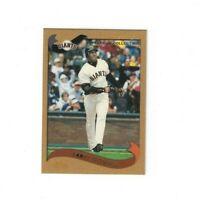 2002 Topps Baseball Gold 10 Card Lot Barry Bonds #500 XXXX/2002 Bernie Williams