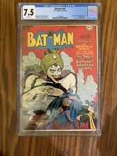 Batman 49 Golden Age October/November 1948 CGC 7.5 WHITE pages