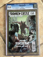 PUNISHER #20 cgc 9.8 DAKEN Vs. FrankenCASTLE - PUNISHMENT Part FOUR w/ WOLVERINE