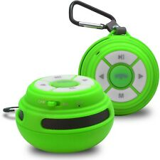 Enceinte Bluetooth SoundBall 3W USB/Micro SD/Jack & Mains libres verte