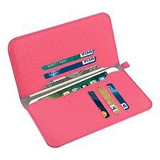 Reiko Universal Wallet Phone Case/Card Holder Pocket iPhone 6,7,8 Plus Hot Pink