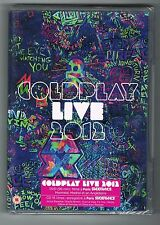 COLDPLAY - LIVE 2012 - DVD + CD - NEUF NEW NEU