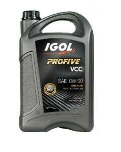 5 litres Huile IGOL Profive VCC A1/B1 C5 0W20   Volvo VCC RBS0-2AE