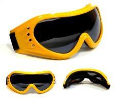 NWT Biker Goggles Vagabond Sky Diving Anti Fog Men Women Padded Frame Smoke Lens