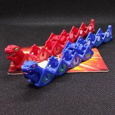 Bakugan Pythantus Red Pyrus & Rare Blue Aquos Set of 2 Trap Spin Master