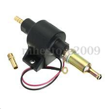 Universal 8mm Car 12V Electric Diesel Petrol Fuel Pump Priming Facet Flow Style