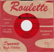 """The Playmates """"Jo-Ann"""" & """"You Can't Stop Me From Dreaming"""" Roulette 4037 VG++/NM"""