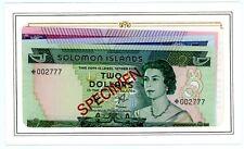 Solomon Islands ... P-CS1 ... 2,5,10 Dollars ... ND(1979) ... Choice *UNC*.