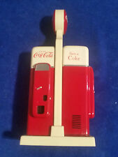 "1993 Coca Cola Vintage Salt and Pepper Vending Machine Shakers 7 1/2"" Tall COKE"