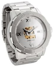 BRAND NEW IN BOX MENS Rockwell ADMIRAL Wrist Watch STEEL AO101 LIMITED RELEASE