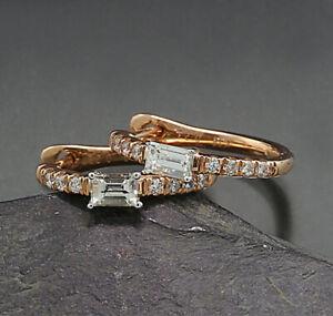 Brillant Diamant Ohrringe 0,47 ct Pinkgold 750 Wert 2.340,-- Euro Neu