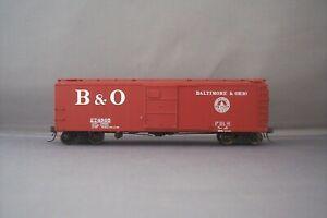 HO Red Caboose X-29 Boxcar B&O #274905