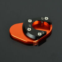 Kickstand Side Stand Extension Pad Plate For KTM 125 200 390 690 950 990 1190