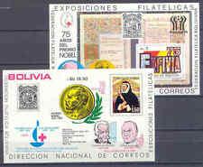 Nobelpreis, Nobel Price - Bolivien - Bl.70+78 ** MNH