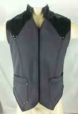 Crisiswear S Small SOLD OUT Vigilante Vest Gray Diesel Steam Punk Goth Cosplay
