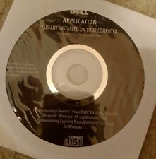 Sealed Cyberlink PowerDVD DX 8.2 & 8.3 Reinstallation Disc for Dell Computers