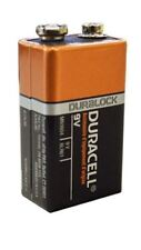 Brand New: 2 x 9V DURACELL BATTERIES . pack packet bateries