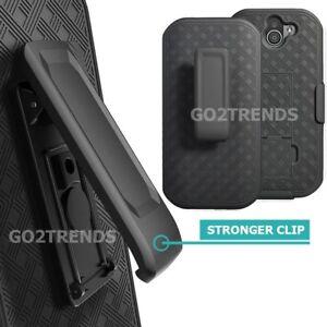 for Kyocera VERIZON DuraForce Pro 2 E6910 E6900 Belt Clip Holster Case - Black