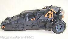 "7"" DC Universe Dark Knight Batman  Batmobile Vehicle 2007 27mhz RC"