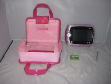 Leap Frog Leap Pad Pink Case Fashion Handbag Carry Bag with Leap Pad 2 Dora game