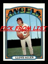 1972 Topps 2-260 EX/EX-MT Pick From List All PICTURED