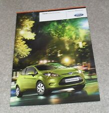 Ford Fiesta ECOnetic Brochure 2009