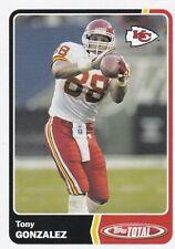 2003 Topps Total #17 Tony Gonzalez Kansas City Chiefs