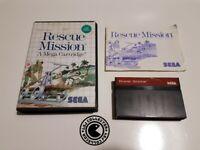 Rescue mission - Sega - master system - PAL