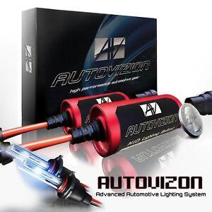 Autovizion HID Kit Conversion Xenon Headlight Fog for 2000-2017 Dodge Durango